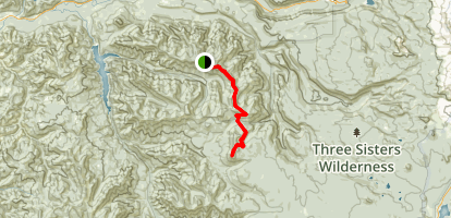 Olallie Mountain Trail Map