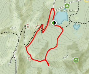 Hoffer Lakes Trail Map