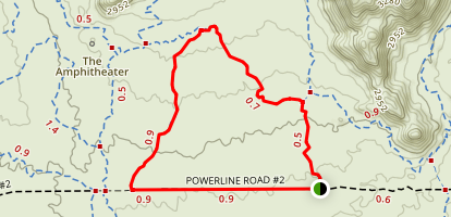 Balanced Rock Trail Loop Map