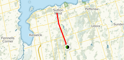 Sutton-Zephyr Rail Tail Map