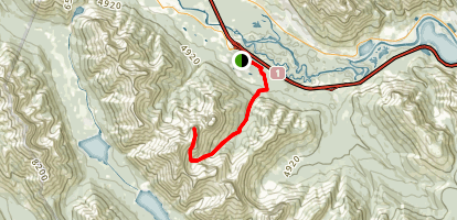 Middle Sister Trail Map
