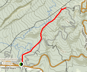 Alpine Trail Map