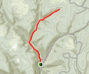 Farmer Shanty Hollow Trail Map
