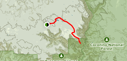 Sycamore Point Trail Map