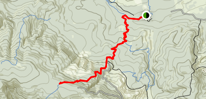 Northern Gales Creek Trail Map