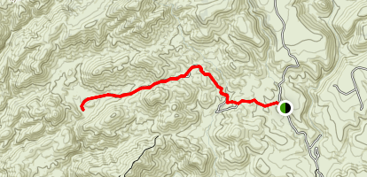 Big Maggie May Trail Map
