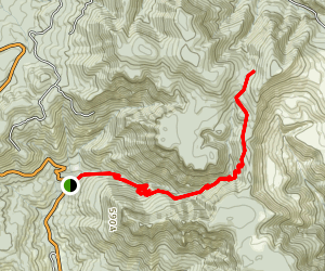 Parker Creek Trail Map