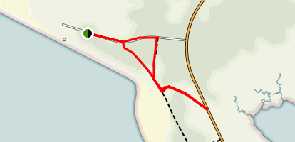 Fort Stevens State Park Loop Trail Map