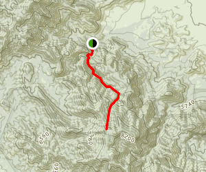 Scheelite Canyon Trail Map