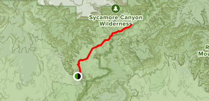 Sycamore Basin Trail Map