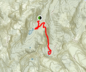 Slide Lake Trail Map