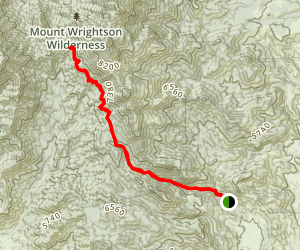 Temporal Gulch Trail Map