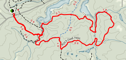 Rock Dam Trail Map