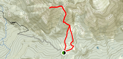 Mount Tukuhnikivatz Trail Map