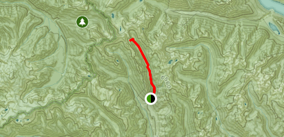 Spider Meadow Trail Map