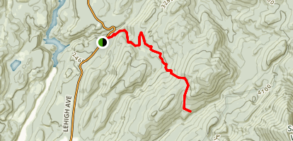 Halliday Trail Map