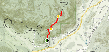 Gem Lake Trail Map