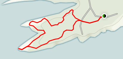 Island Trail Map