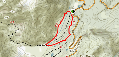 Bagley Creek Loop Trail Map