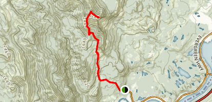 Table Mountain Trail Via Pacific Crest Trail Map