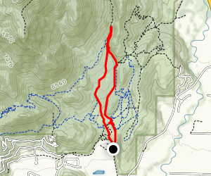 Dutch Hollow: Burnt Ridge to Sage Loop Map