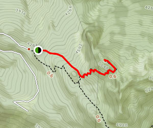 Anderson Butte Trail Map