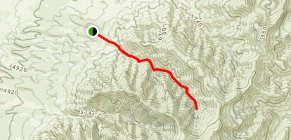 Water Canyon Trail Map