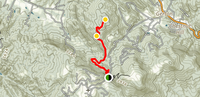 Trombatore Trail Map