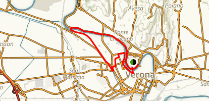 Verona River Loop Trail Map