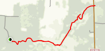 Haw Creek at Russell Landing Map