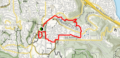 Lakemont Trail Map