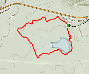 Beaver Run Impoundment Loop Map