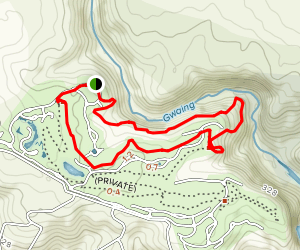 Oubaai Trail Map
