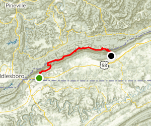 Mischa Mokwa Adventure Trail Map