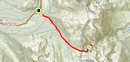 Mono Pass Trail Map