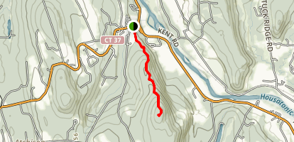 Candlewood Trail Map