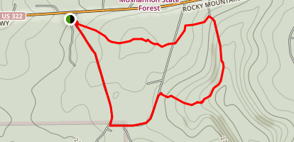 Rockton Mountain Map