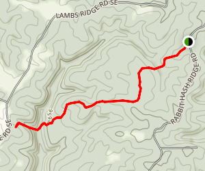 Rabbit Hash Trail Map