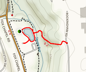 Squaw Valley Park Loop Map