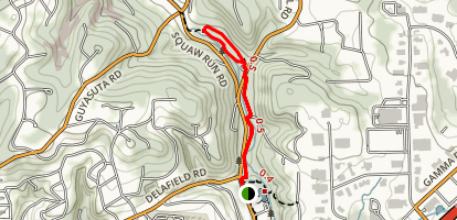 Salamander Trail Loop Map
