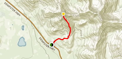 Angelcomb Peak Trail Map