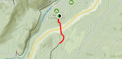Purcell Falls Trail Map