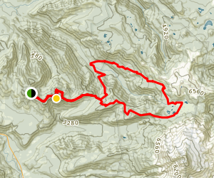 Triangulation Peak to Jefferson Park Loop Map