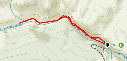 Bull Valley Gorge Trail Map