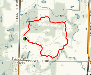 Pine Dunes Trail Map