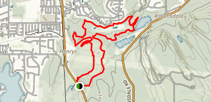 Summit Ridge Loop Map