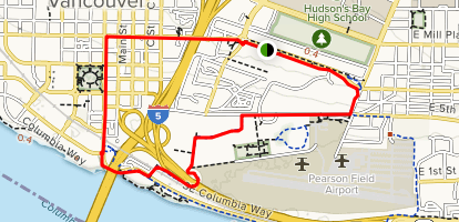 Discovery Historic Loop Map