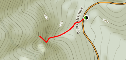 Robber's Roost Trail Map