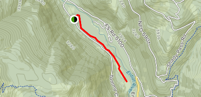 Silver Falls Barrier-Free Trail Map