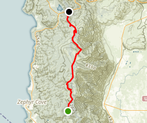 Genoa Peak Road Map